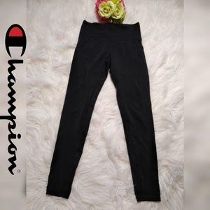 CHAMPION BLACK WOMEN SPORT LEGGINGS
